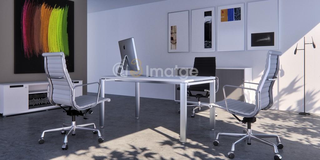 oficina con sol